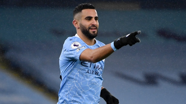 Le hat-trick de Mahrez contre Burnley