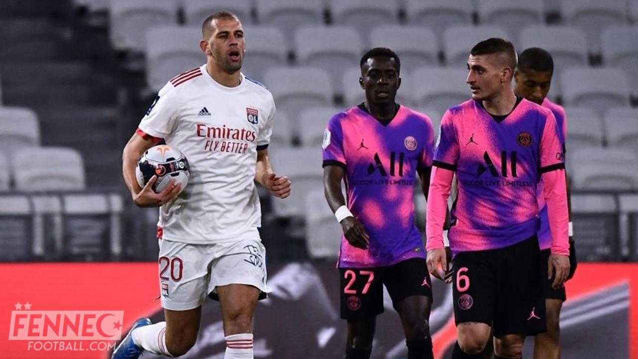 Le but de Slimani contre le PSG